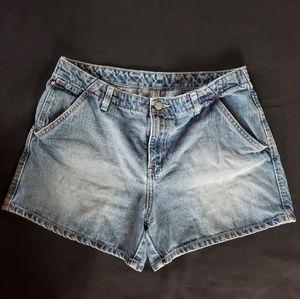 Ralph Lauren size 12 4- inch jean deck shorts